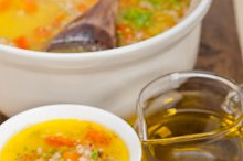 Syrian barley broth soup Aleppo style called talbina 055.jpg