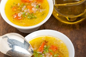 Syrian barley broth soup Aleppo style called talbina 056.jpg