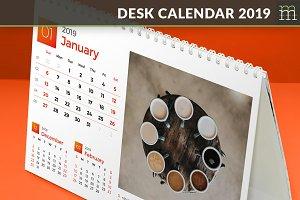 Desk Calendar 2019 (DC009-19)
