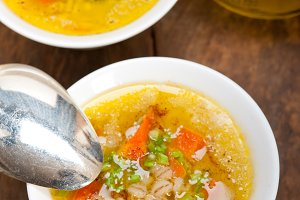 Syrian barley broth soup Aleppo style called talbina 057.jpg