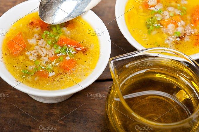 Syrian barley broth soup Aleppo style called talbina 059.jpg - Food & Drink