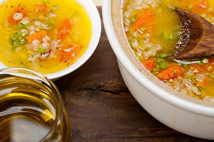Syrian barley broth soup Aleppo style called talbina 060.jpg
