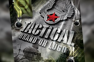 Tactical Brand Flyer Set Template