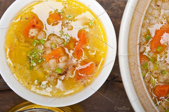 Syrian barley broth soup Aleppo style called talbina 061.jpg - Food & Drink