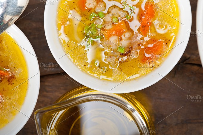 Syrian barley broth soup Aleppo style called talbina 062.jpg - Food & Drink