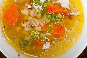 Syrian barley broth soup Aleppo style called talbina 063.jpg