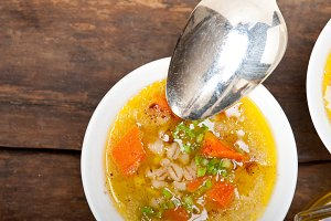 Syrian barley broth soup Aleppo style called talbina 064.jpg