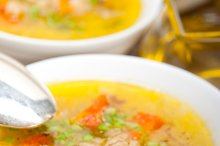 Syrian barley broth soup Aleppo style called talbina 065.jpg
