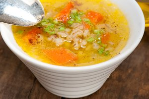 Syrian barley broth soup Aleppo style called talbina 066.jpg