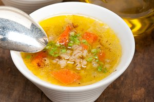 Syrian barley broth soup Aleppo style called talbina 067.jpg