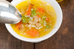 Syrian barley broth soup Aleppo style called talbina 068.jpg