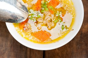 Syrian barley broth soup Aleppo style called talbina 069.jpg