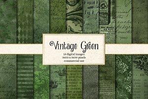 Vintage Green Textures