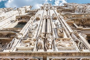 Milan Cathedral exterior, Italy
