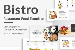 Bistro Food Keynote Template