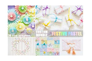 Custom bundle | Festive pastel