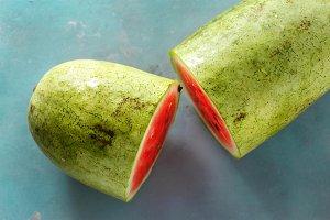 Half watermelon