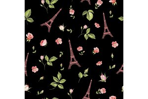 Pattern with eiffel tower.