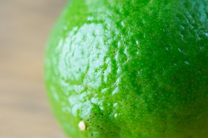 Fresh lime fruit