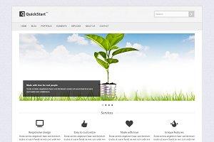 QuickStart - Responsive Template