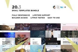 20 Email templates bundle III