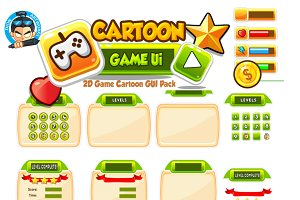 Cartoon Game Ui Set  06
