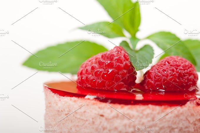 raspberry mousse dessert cake 042.jpg - Food & Drink