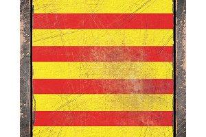 Old Catalonia flag