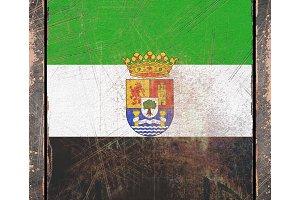 Old Extremadura flag