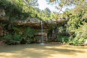 Waterfall of Campdevanol
