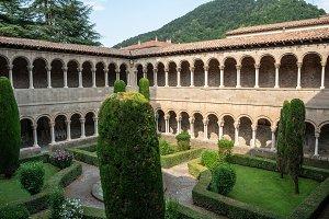 Ripoll Monastery cloister