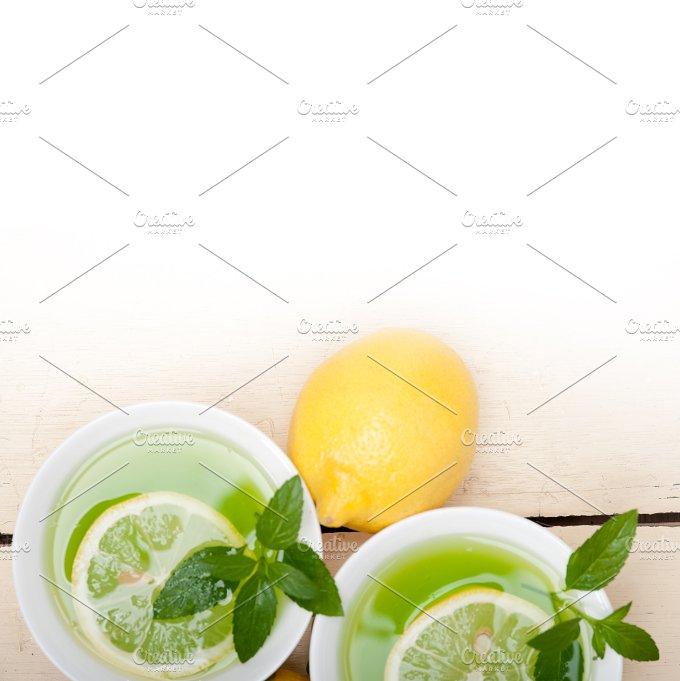 mint tea infusion withl emon 003.jpg - Food & Drink