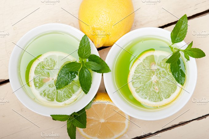 mint tea infusion withl emon 005.jpg - Food & Drink
