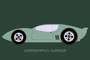 classical sport car