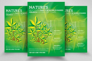 Nature Flyer Template 09