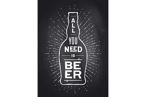 Poster To Beer Or Not To Beer