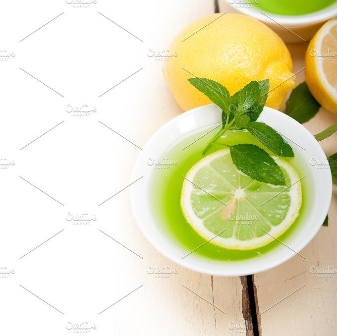 mint tea infusion withl emon 017.jpg - Food & Drink
