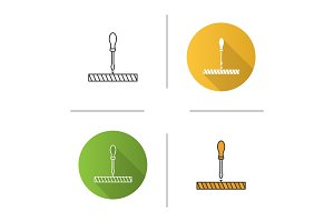 Screwdriver, turn screw icon