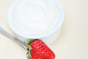 Greek organic yogurt and  strawberries 004.jpg