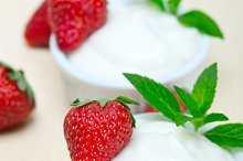 Greek organic yogurt and  strawberries 016.jpg