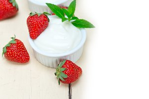 Greek organic yogurt and  strawberries 025.jpg