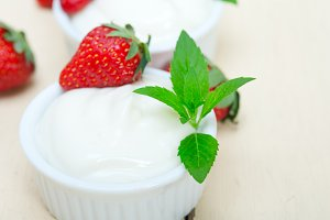 Greek organic yogurt and  strawberries 029.jpg