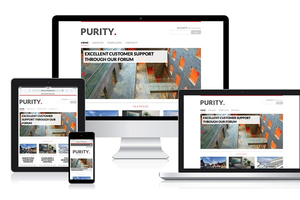 WordPress Magazine Themes: MH Themes - MH Purity WordPress Theme
