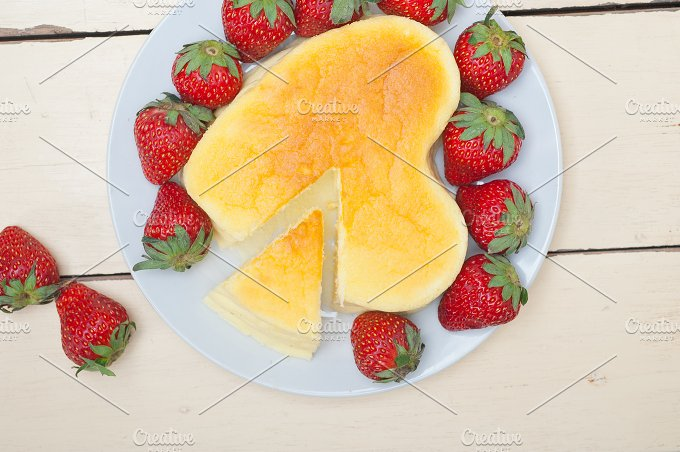 heart shape cheesecake and strawberries 020.jpg - Food & Drink