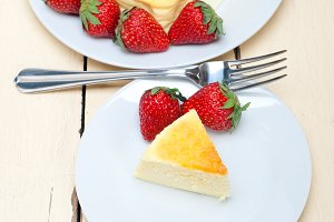 heart shape cheesecake and strawberries 023.jpg