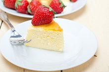 heart shape cheesecake and strawberries 034.jpg