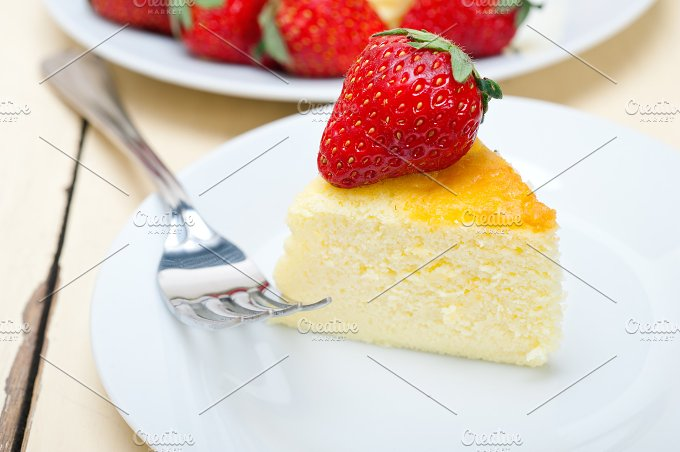 heart shape cheesecake and strawberries 036.jpg - Food & Drink