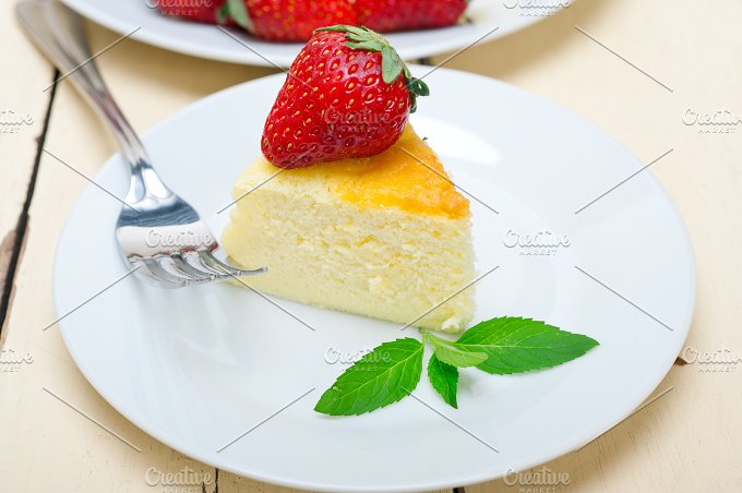 heart shape cheesecake and strawberries 042.jpg - Food & Drink