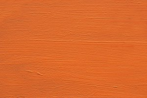 Painted Wood : Orange