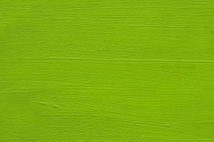 Painted Wood : Green